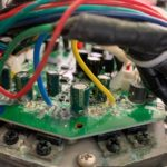 Hoverboard oprava kontaktů a elektroniky